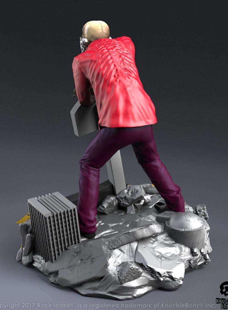 Megadeth Peace Sells Vic Rattlehead Rock Iconz Statue