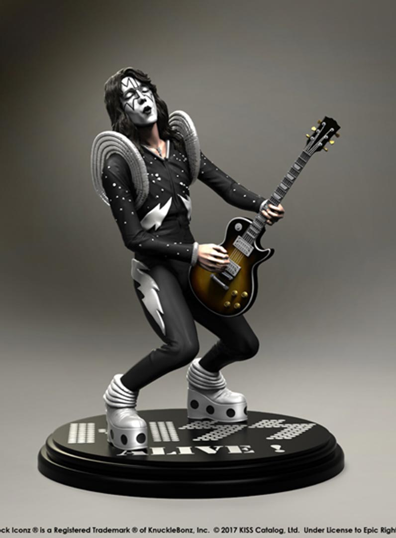 Kiss The Spaceman Alive Rock Iconz Knucklebonz Inc