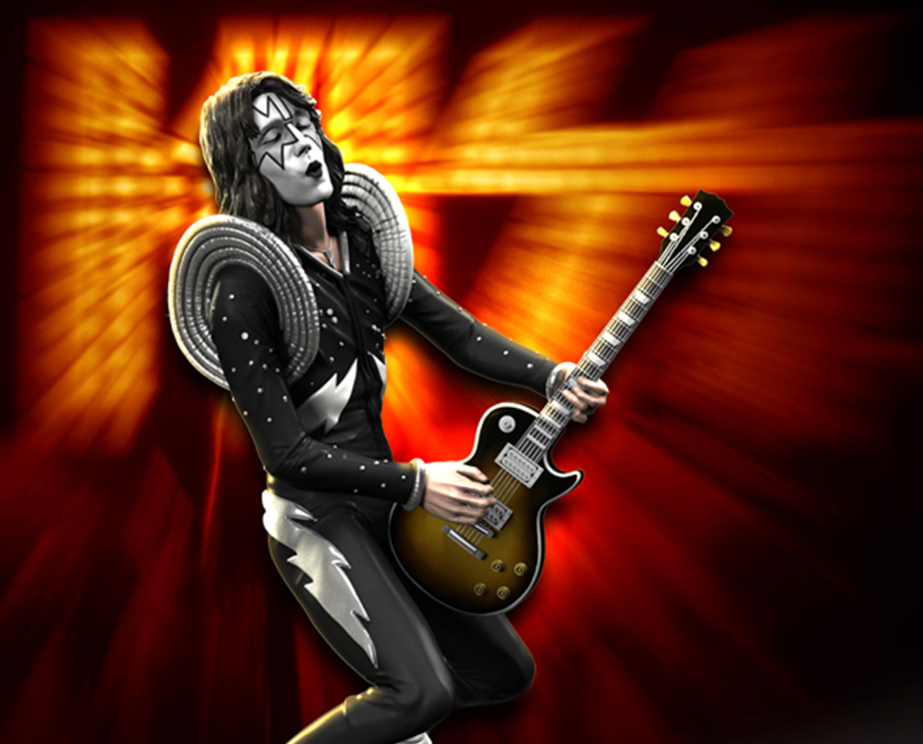 Kiss The Spaceman Alive Rock Iconz Knucklebonz Inc