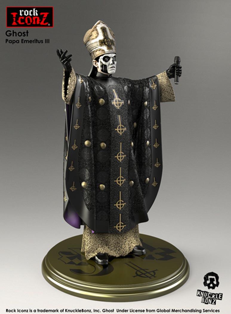 Ghost Rock Iconz Statue – Knucklebonz, Inc.