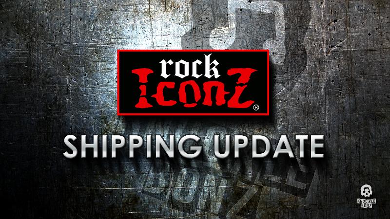 KnuckleBonz® Rock Iconz™ Production Update