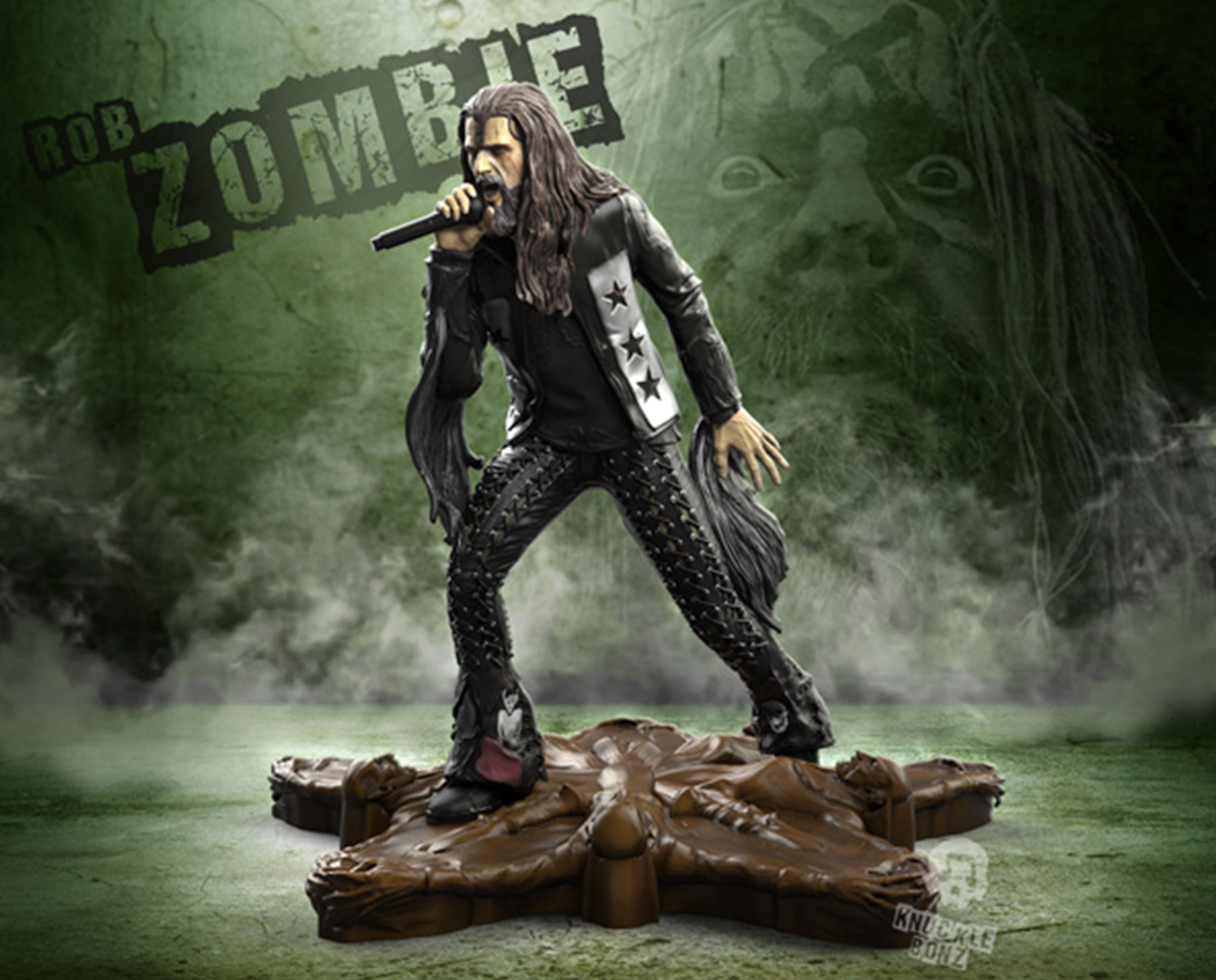 Rob Zombie Rock Iconz Statue – Knucklebonz, Inc.