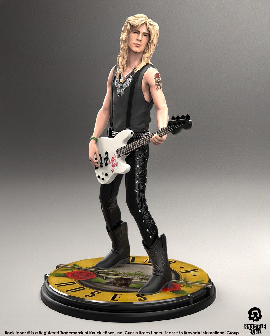 Guns N Roses Duff Mckagan Rock Iconz Statue Knucklebonz