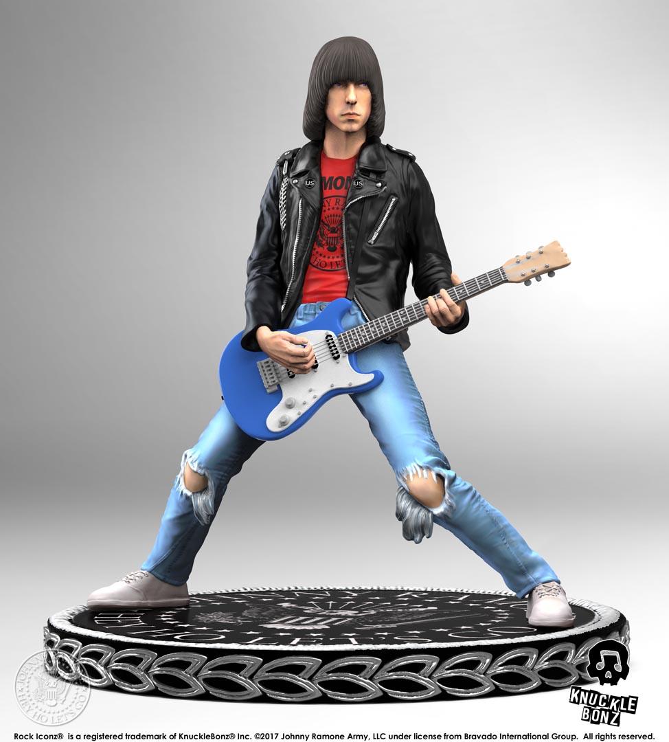 Johnny Ramone Rock Iconz Statue Knucklebonz Inc