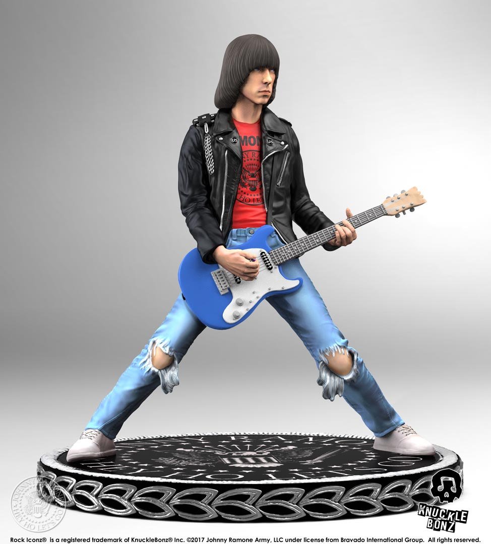 Johnny Ramone Rock Iconz Statue Knucklebonz Inc