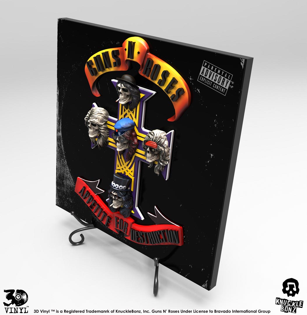 Guns N' Roses (Appetite for Destruction) 3D Vinyl ...
