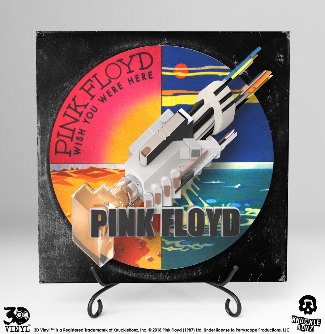 Pink Floyd Wish You Were Here 2 Mounted /& Framed Print