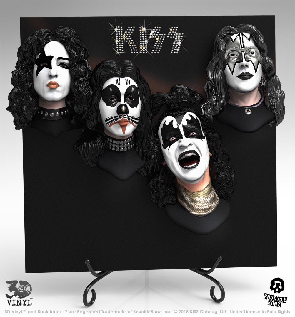 KISS (Debut Album) 3D Vinyl – Knucklebonz, Inc.