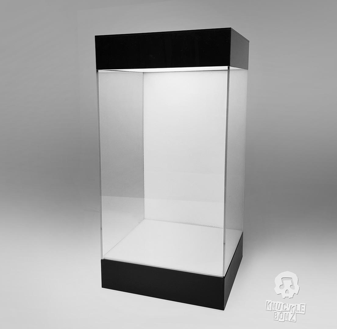 Display Case (Lighted) White Background