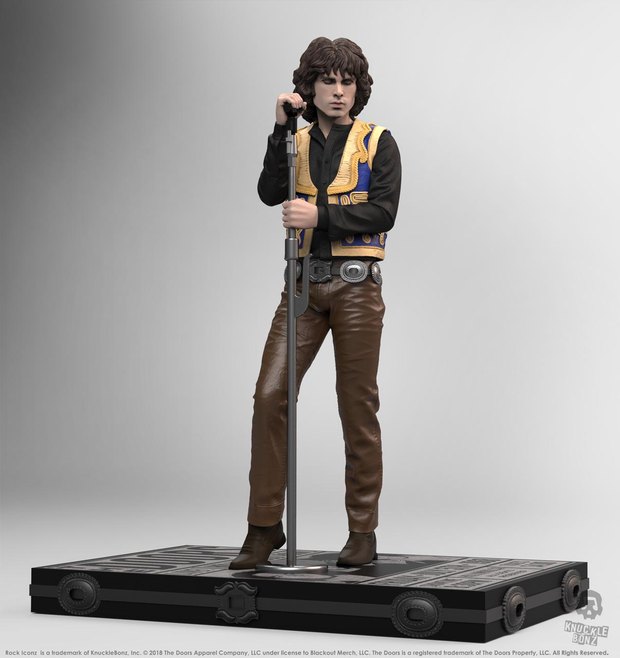 The Doors Jim Morrison Rock Iconz Statue Knucklebonz Inc