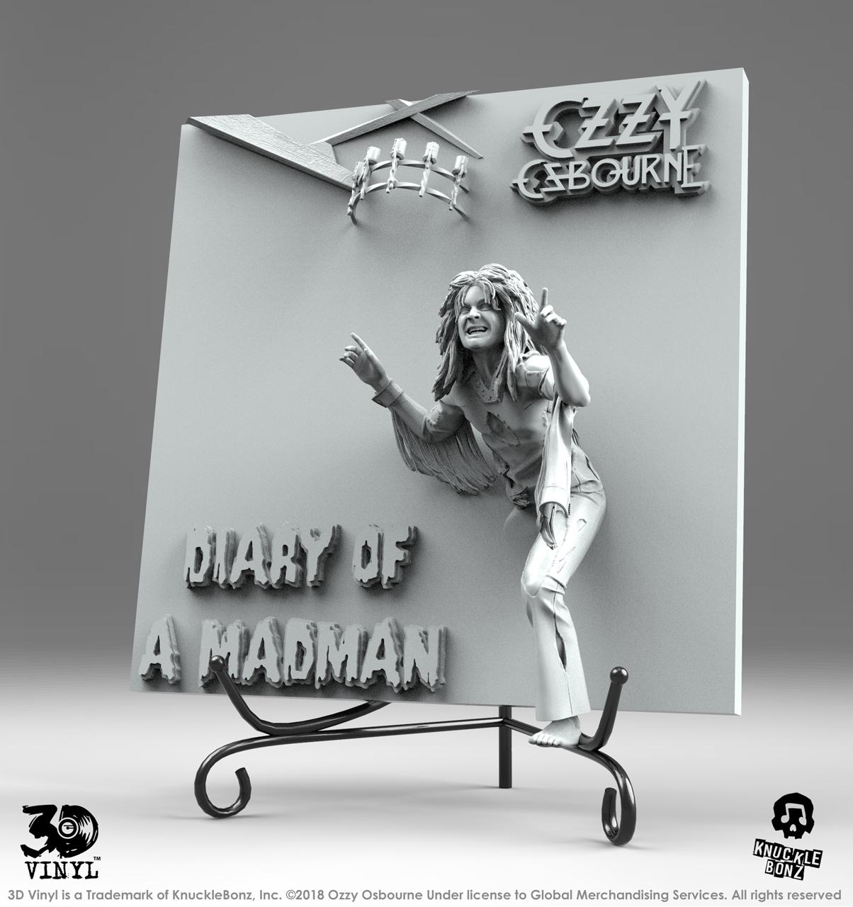 Ozzy Osbourne (Diary Of A Madman) 3D Vinyl