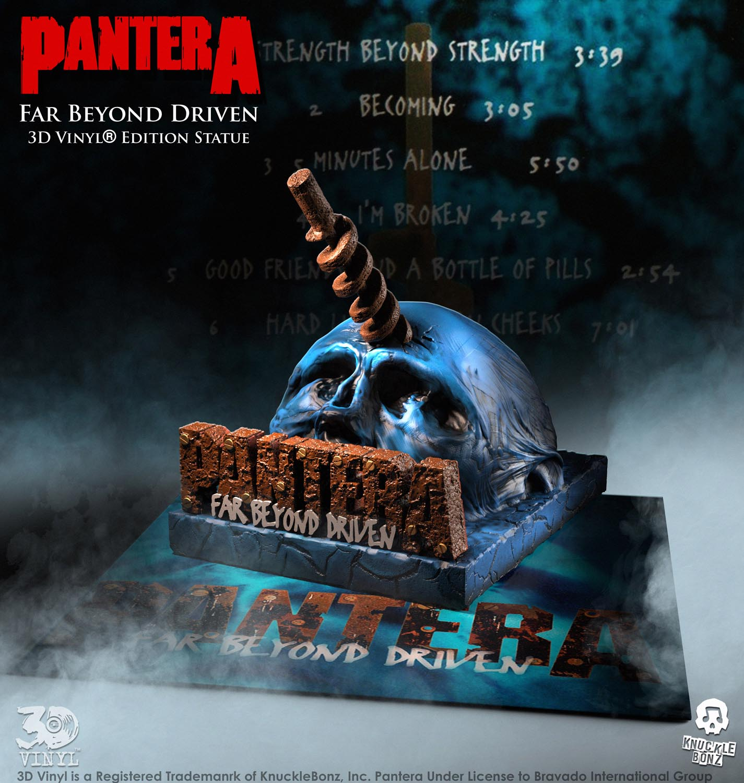 "Pantera ""Far Beyond Driven"" Announced for KnuckleBonz® 3D Vinyl® Collector Series"